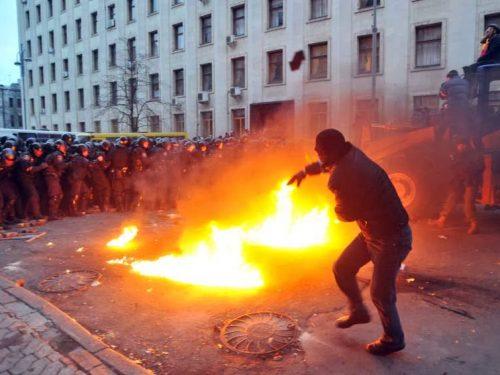 Ucraina, gas e legna.