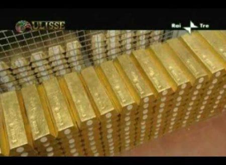 L'oro della Banca d'Italia.
