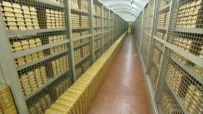 oro della banca d'italia